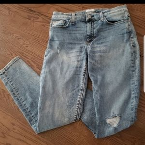 Hudson White wash Jean's distressed